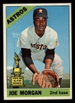 1966 Topps #195  Joe Morgan  Front Thumbnail