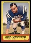 1963 Topps #8  Gino Marchetti  Front Thumbnail