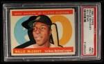 1960 Topps #554  All-Star  -  Willie McCovey Front Thumbnail