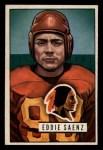 1951 Bowman #142  Eddie Saenz  Front Thumbnail