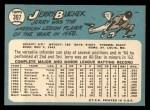 1965 Topps #397  Jerry Buchek  Back Thumbnail
