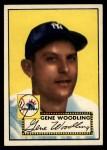 1952 Topps #99  Gene Woodling  Front Thumbnail
