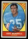 1967 Topps #48   Ode Burrell Front Thumbnail
