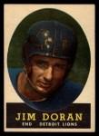 1958 Topps #43   Jim Doran Front Thumbnail