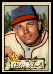 1952 Topps #76 RED  Eddie Stanky Front Thumbnail