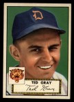 1952 Topps #86   Ted Gray Front Thumbnail