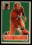 1956 Topps #49  Eddie LeBaron  Front Thumbnail