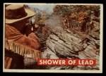 1956 Topps Davy Crockett #18 GRN Shower of Lead   Front Thumbnail