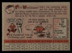 1958 Topps #466  Pete Whisenant  Back Thumbnail