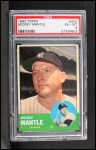 1963 Topps #200   Mickey Mantle Front Thumbnail
