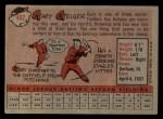 1958 Topps #462  Gary Geiger  Back Thumbnail