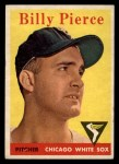 1958 Topps #50 ^WT^ Bill Pierce  Front Thumbnail
