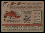 1958 Topps #371  Marty Keough  Back Thumbnail
