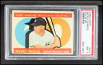 1960 Topps #563  All-Star  -  Mickey Mantle Front Thumbnail
