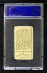 1911 T205 #125  Al Mattern  Back Thumbnail