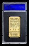 1911 T205 #148  Rube Oldring  Back Thumbnail