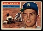 1956 Topps #207  Jim Small  Front Thumbnail