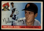 1955 #112  Nelson King  Front Thumbnail