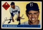 1955 Topps #51  Jim Hughes  Front Thumbnail