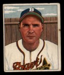 1950 Bowman #110   Tommy Holmes Front Thumbnail