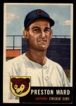 1953 Topps #173   Preston Ward Front Thumbnail