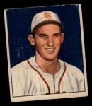 1950 Bowman #251  Les Moss  Front Thumbnail