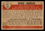 1953 Bowman #135  Bob Morgan  Back Thumbnail