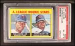 1967 Topps #569   AL Rookies Hank Allen / Rod Carew Front Thumbnail