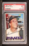 1967 Topps #570   Maury Wills Front Thumbnail