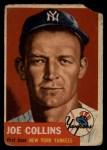 1953 Topps #9   Joe Collins Front Thumbnail
