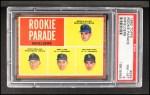 1962 Topps #596   -  Bernie Allen / Rich Rollins / Phil Linz / Joe Pepitone Rookie Parade - Infielders Front Thumbnail
