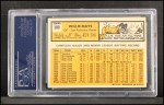 1963 Topps #300   Willie Mays Back Thumbnail