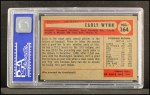 1954 Bowman #164  Early Wynn  Back Thumbnail