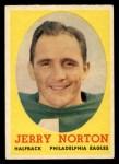 1958 Topps #40   Jerry Norton Front Thumbnail