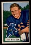 1951 Bowman #49  Fred Morrison  Front Thumbnail