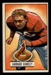 1951 Bowman #28  Garrard Ramsey  Front Thumbnail