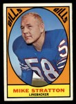1967 Topps #29  Mike Stratton  Front Thumbnail