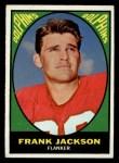 1967 Topps #78   Frank Jackson Front Thumbnail