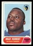 1968 Topps #141   Brad Hubbert Front Thumbnail