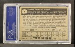 1952 Topps #9 BLK Bobby Hogue  Back Thumbnail
