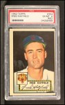 1952 Topps #354   Fred Hatfield Front Thumbnail