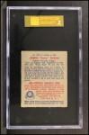 1949 Bowman #226  Duke Snider  Back Thumbnail