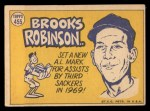 1970 Topps #455  All-Star  -  Brooks Robinson Back Thumbnail