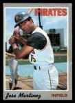 1970 Topps #8   Jose Martinez Front Thumbnail