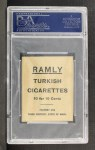1909 T204 Ramly #12   Walter Blair  Back Thumbnail