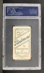 1909 T206 #51 POR Roger Bresnahan  Back Thumbnail