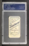 1909 T206 #91 BAT Fred Clarke  Back Thumbnail