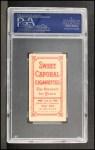 1909 T206 #153  Hugh Duffy  Back Thumbnail