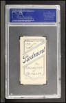 1909 T206 #247 POR Willie Keeler  Back Thumbnail