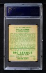 1934 Goudey #14   Willie Kamm Back Thumbnail